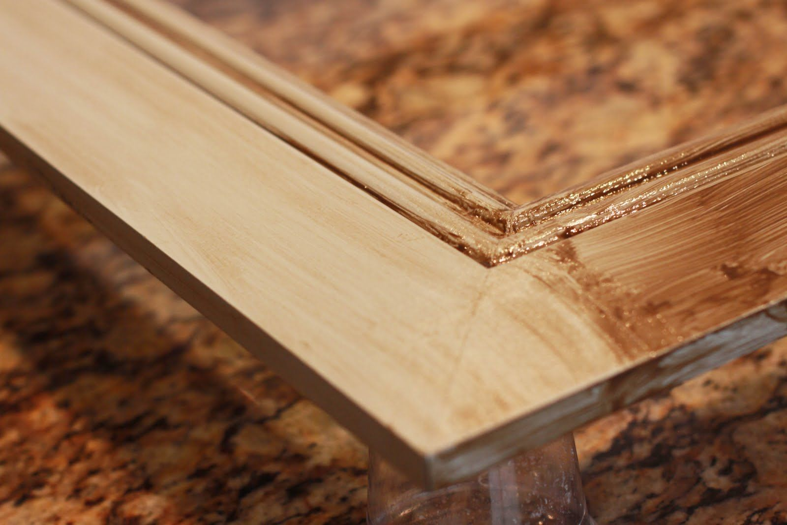 How to Build a LARGE Frame with Moulding Diy picture