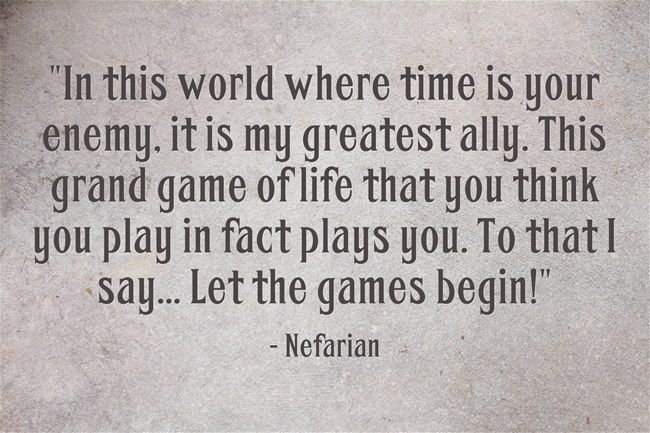 World Of Warcraft Inspirational Quotes: Abandonment. Legacy. Destiny. Nefarian.