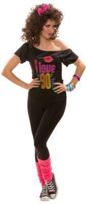 80er Jahre Shirt, Damen #silvesteroutfitdamen