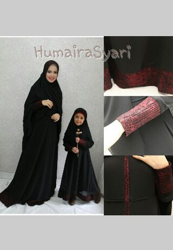Gamis Syar I Ibu Dan Anak Humaira Call Wa Sms 081809688835