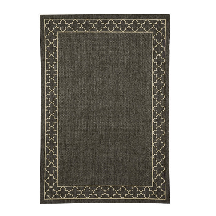 Suzanne Kasler Quatrefoil Border Indoor Outdoor Rug Outdoor Rugs Indoor Outdoor Rugs Quatrefoil Rug