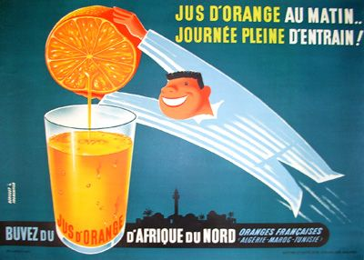 Jus d'Orange (c.1960) by Derouet and Fromentier