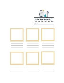 Storyboard Template Handout  Middle School Tech Ideas