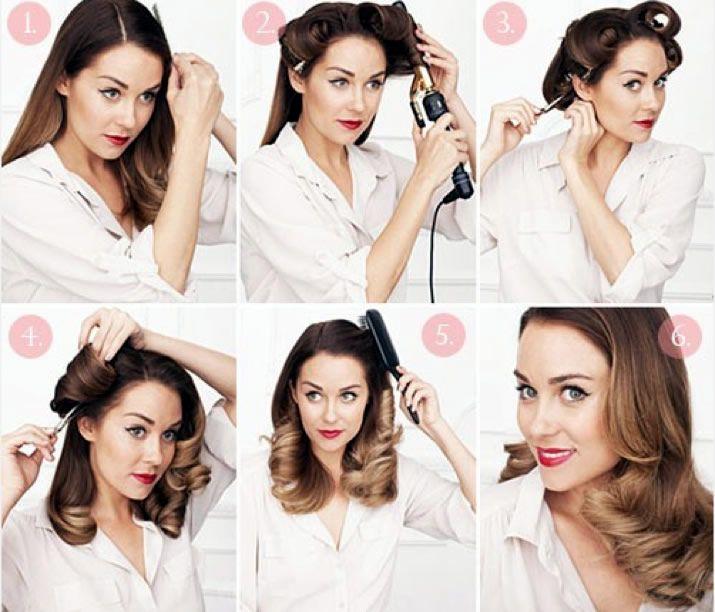Groovy Retro Curls Hairstyle Tutorials And Hairstyles On Pinterest Short Hairstyles Gunalazisus