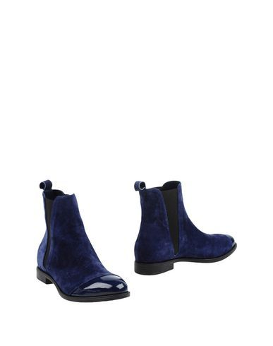 MARCO BARBABELLA Women's Ankle boots Blue 10 US