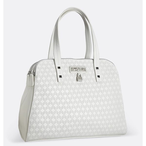 Avenue Ashlee Perforated Dome Satchel 63 Cad Liked On Polyvore Featuring Bags