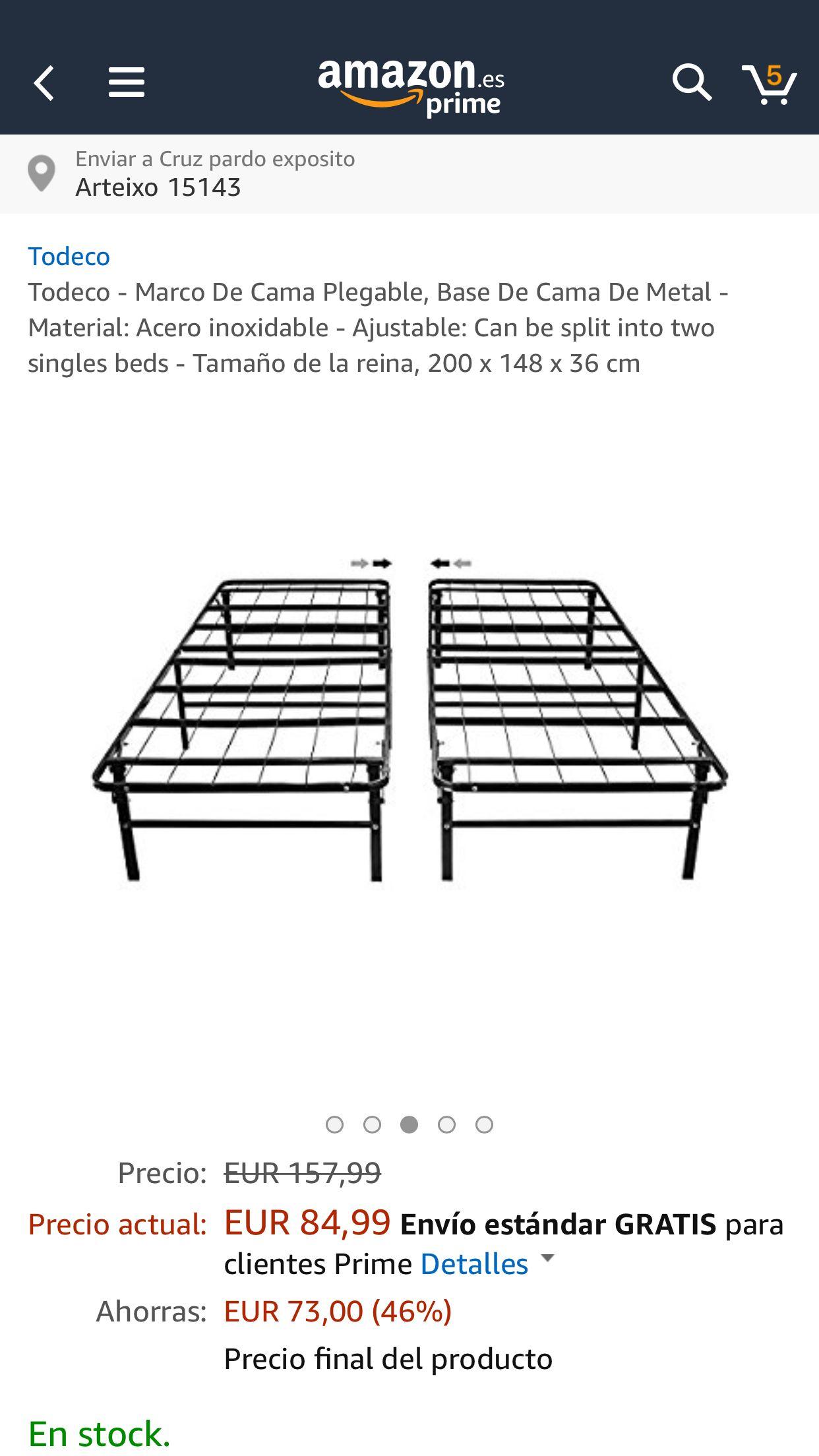 Famoso Marco De La Cama Amazon Festooning - Ideas de Arte Enmarcado ...