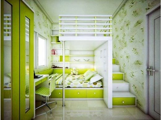 Bedrooms For Teens Modern Smart Teenagers Green Bedroom Green Bedroom Ideas For Children Green Kids Rooms Cool Room Designs Small Room Design