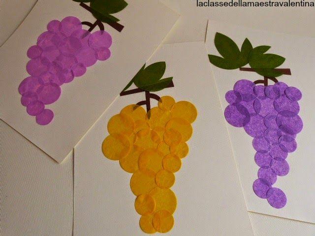 Tanti grappoli d 39 uva by la classe della maestra for Maestra valentina estate