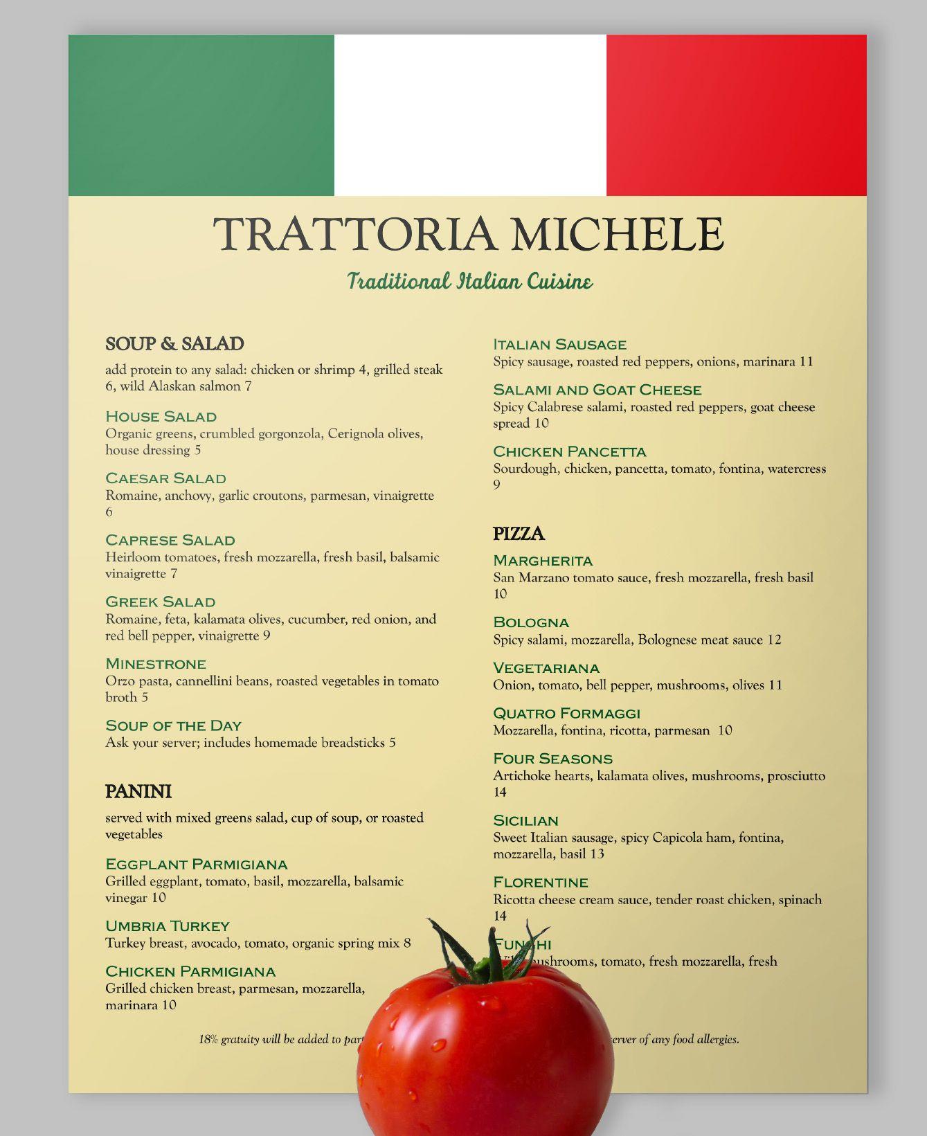 Viva Italia loveyourmenu italianfood italy vivaitalia menu – Italian Menu