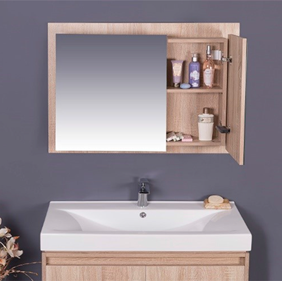 Phuket 36 Inch Medicine Cabinet With Mirrored Surfaces Inside And