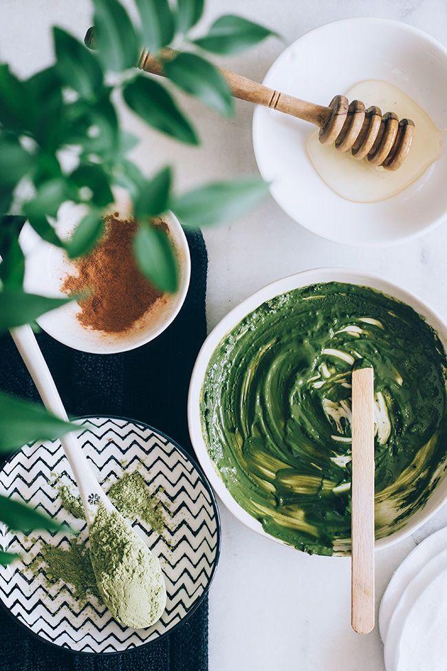 Photo of DIY Matcha Green Tea Face Mask + Salted Cream Body Scrub | HelloGlow.co
