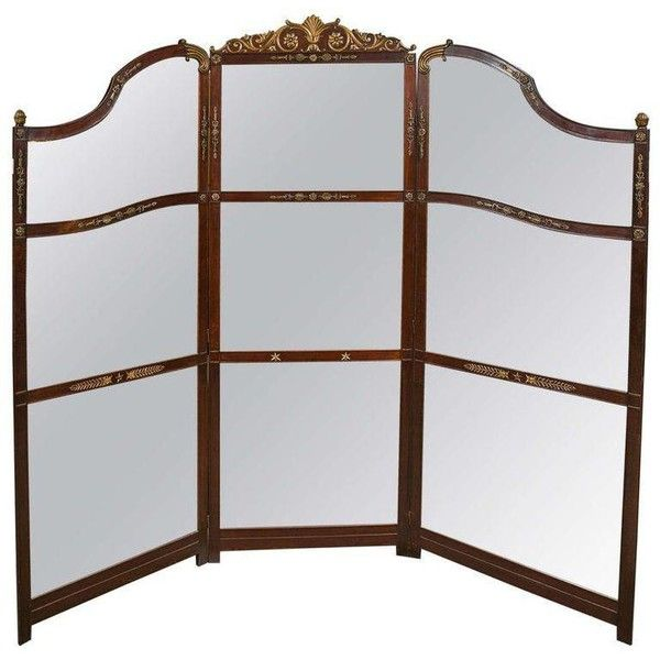 3-Panel Room Divider Or Screen Mirror ($2,500) ❤ Liked On