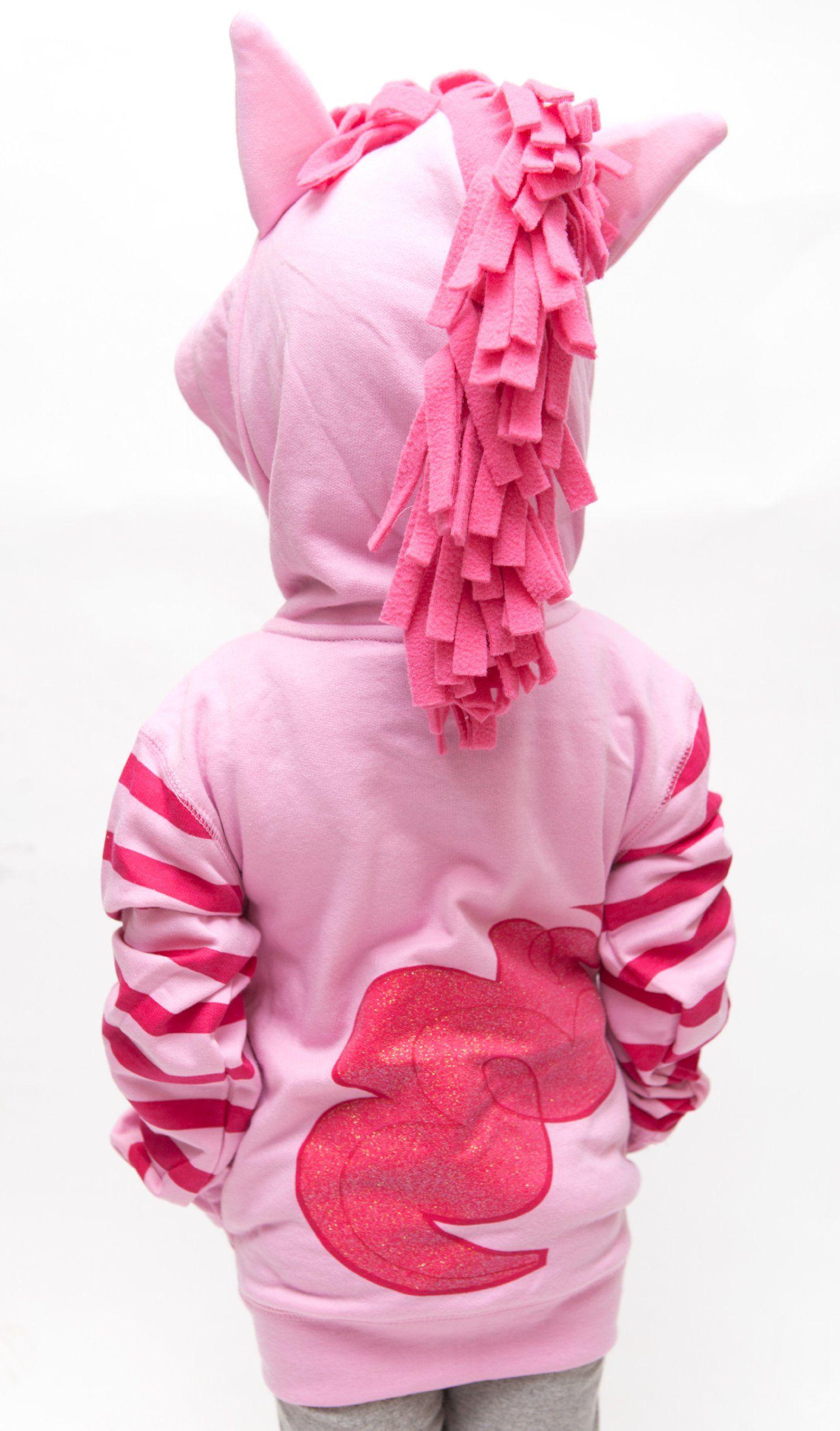 a5515767bfb1 Amazon.com  Girls 4-16 My Little Pony Licensed Pinkie Pie Sparkle ...