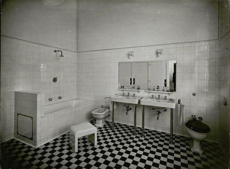 Le blog des AMIS de la VILLA CAVROIS Les salles de bains