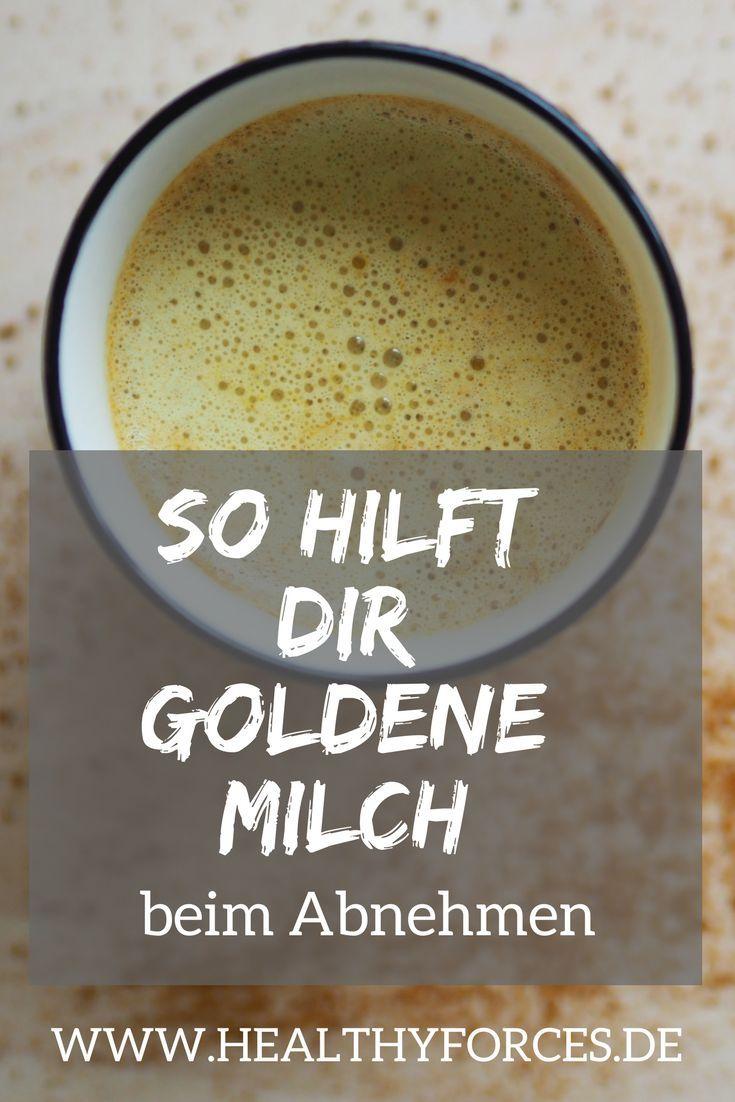 Goldene Milch zum Abnehmen: Rezept und Tipps für das Trendgetränk