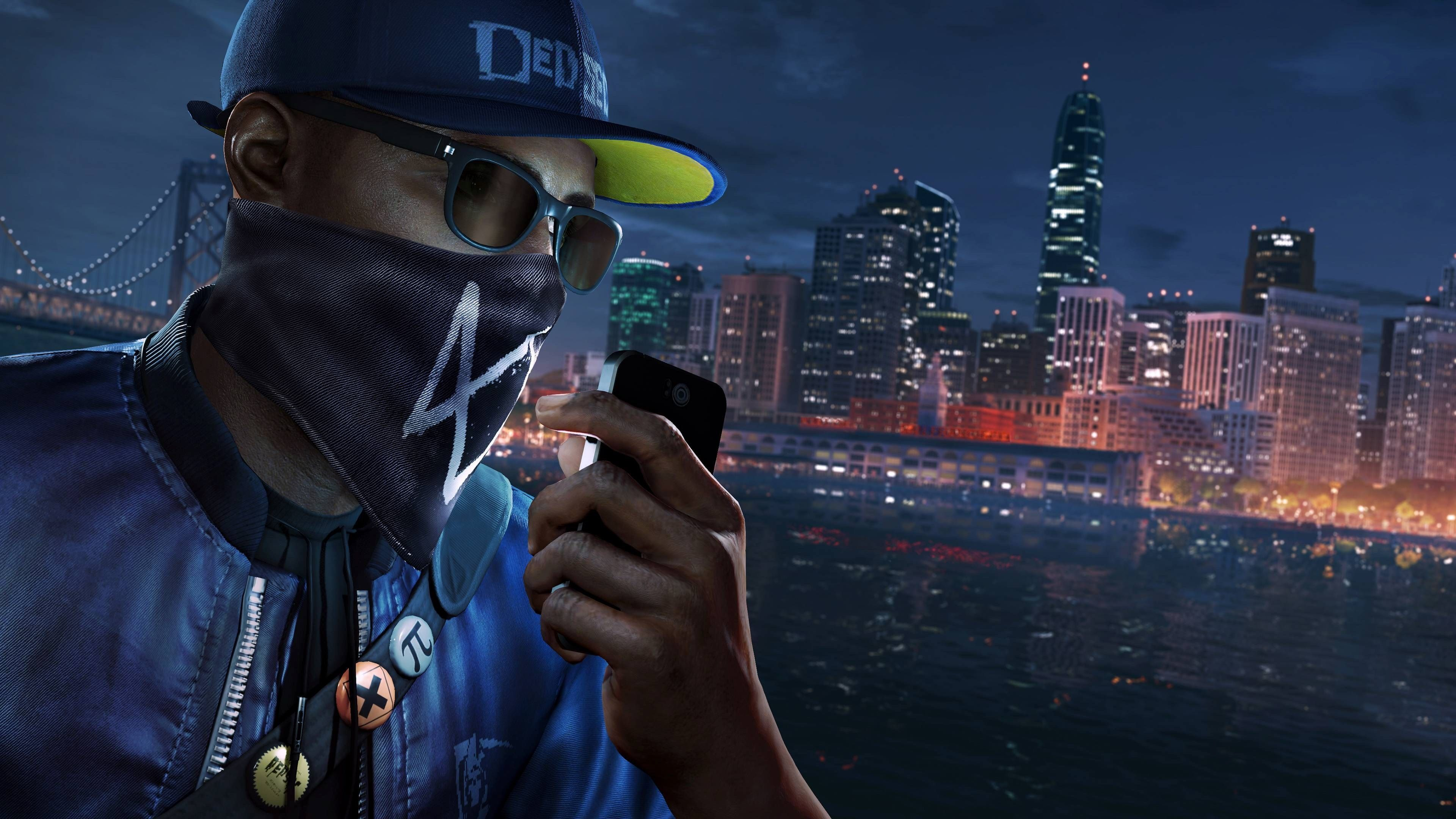 3840x2160 Watch Dogs 2 4k Screen Wallpaper Free Download Watch Dogs Ps4 Background Tv Online Free