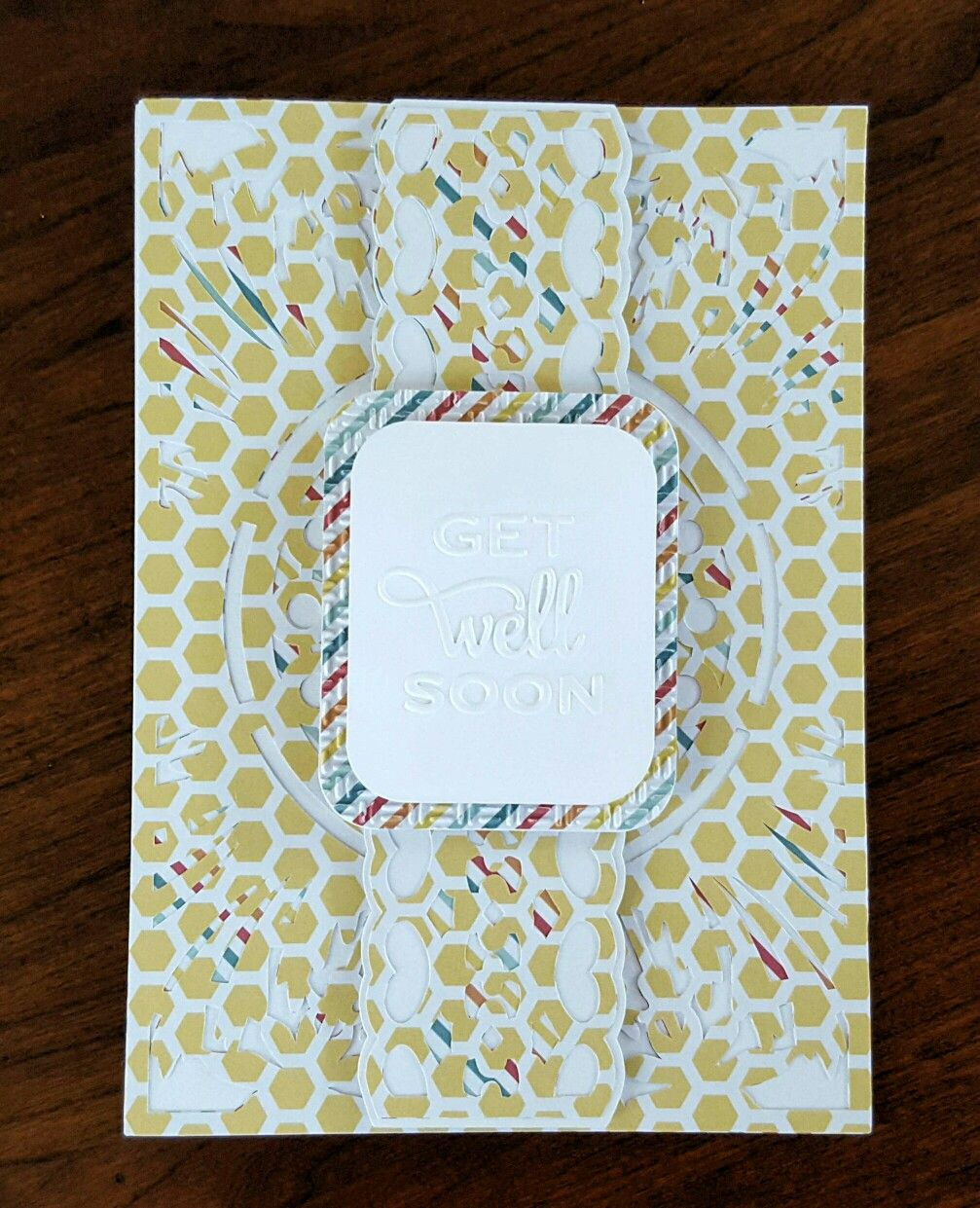 Card that i made with white cardstock recollections paper foam card that i made with white cardstock recollections paper foam squares cricut pronofoot35fo Gallery