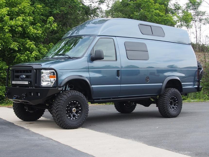 4x4 Van 4wd Van 4 Wheel Drive Van 4x4 Camper Van Lifted Van 4x4