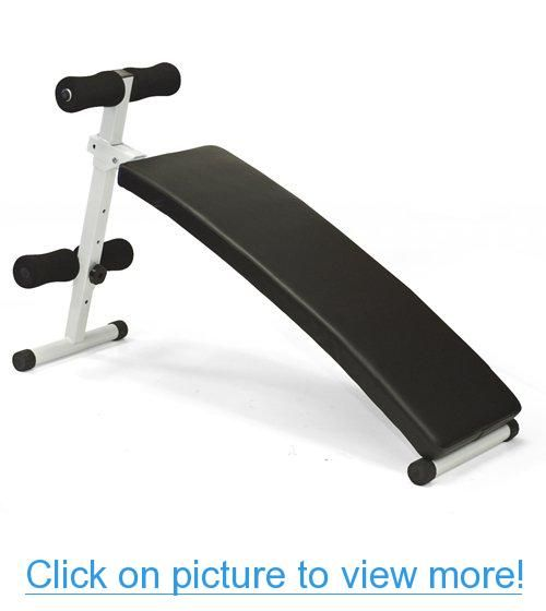 Curved Ab Sit Up Bench Decline Abdominal Crunches Situp Bench Portable New Sit Up Bench Adjustable Weight Bench