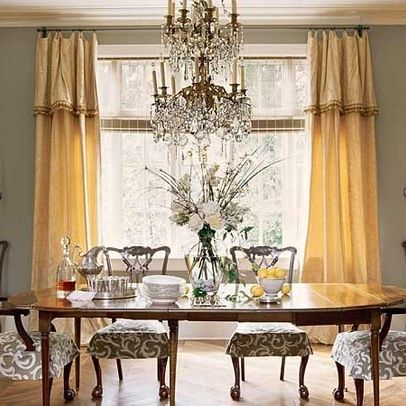 Gold Curtains Design Ideas Pictures Remodel And Decor Dining Room Window Treatments Grey Dining Room Dining Room Windows