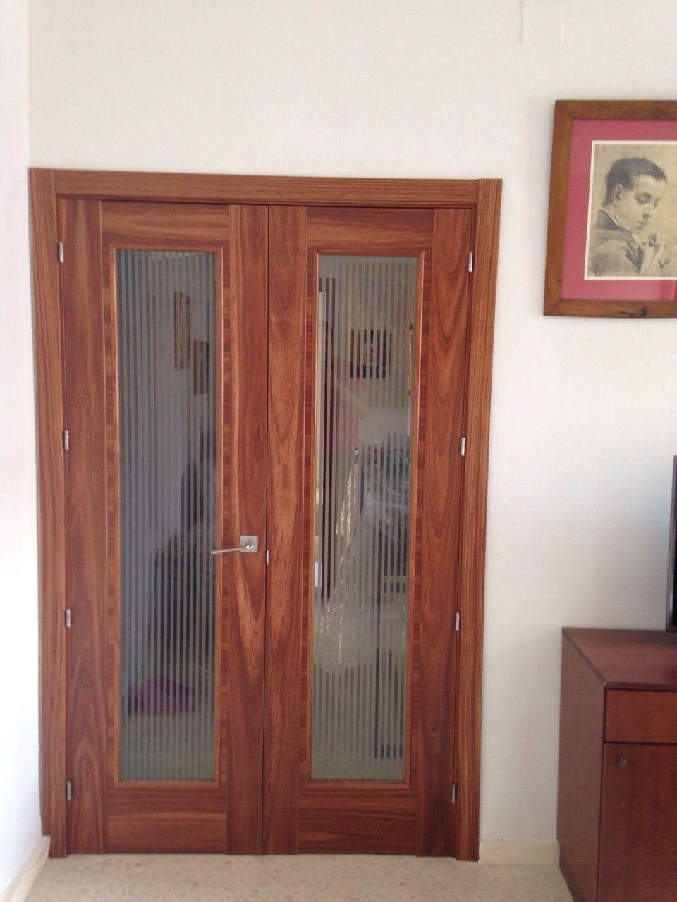 Palma Etimoe Wa1 Con Cristal Especial Cenefa Rayas Puertas Doors  ~ Cristales Para Puertas De Madera