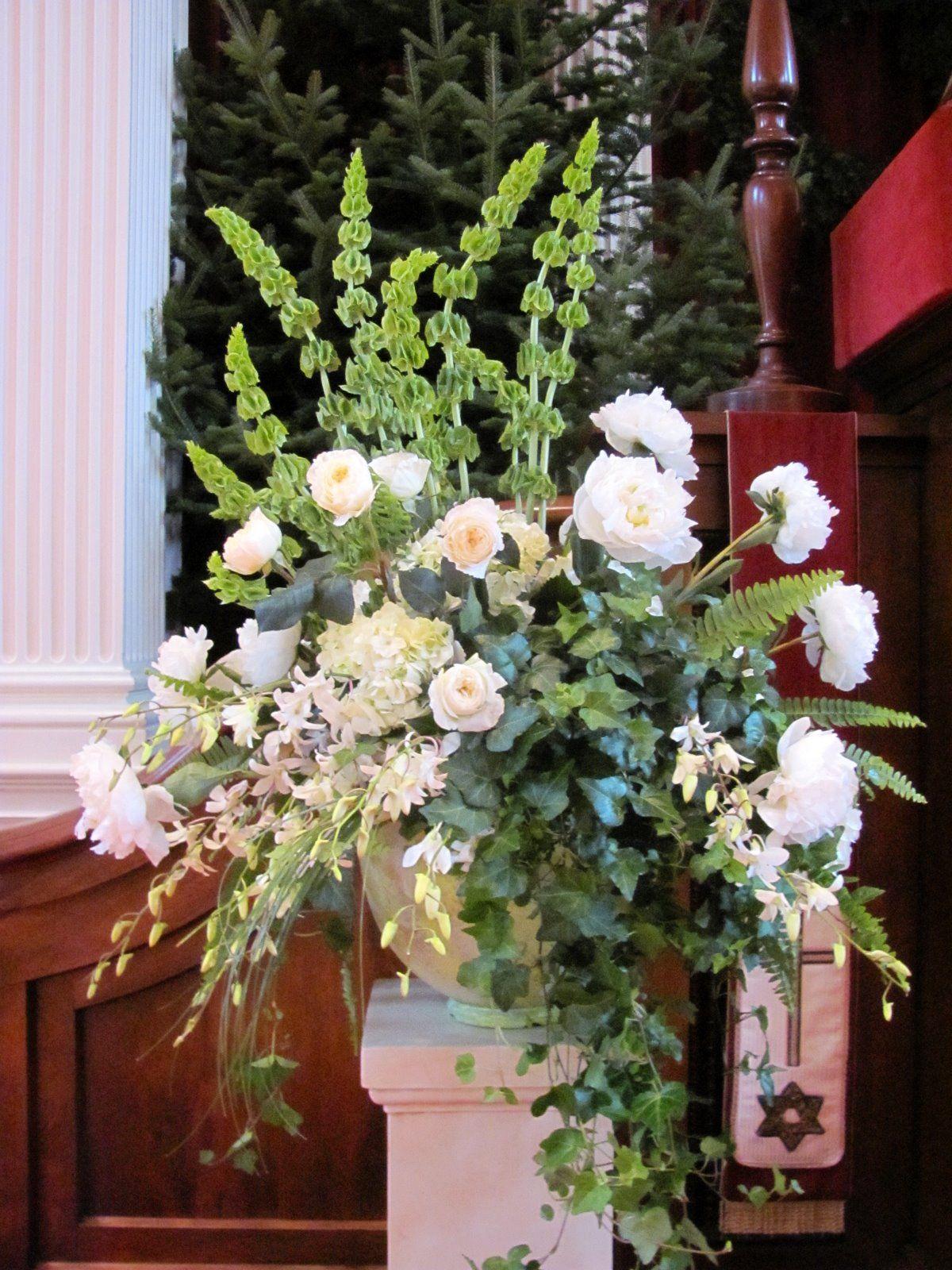 Corporate event large flower arrangements memorial