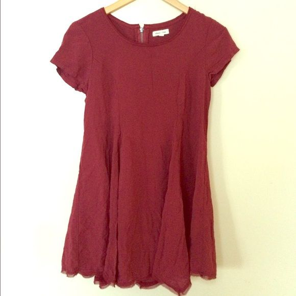 Urban outfitters dress Pretty rich color,simple design but very flattering . Extremely soft fabric , you'll want to wear this everyday silence + noise Dresses Mini