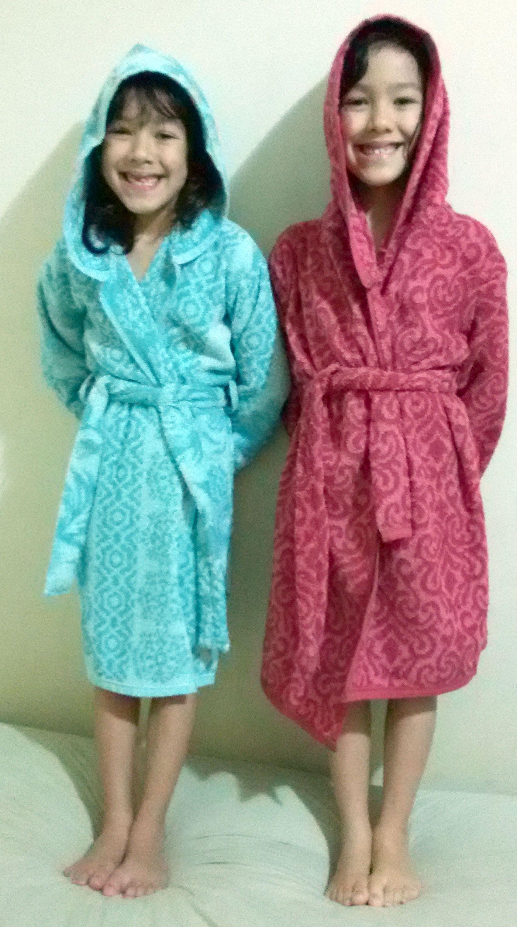 Roupão Infantil ~ Como fazer um roup u00e3o de banho infantil para crianças