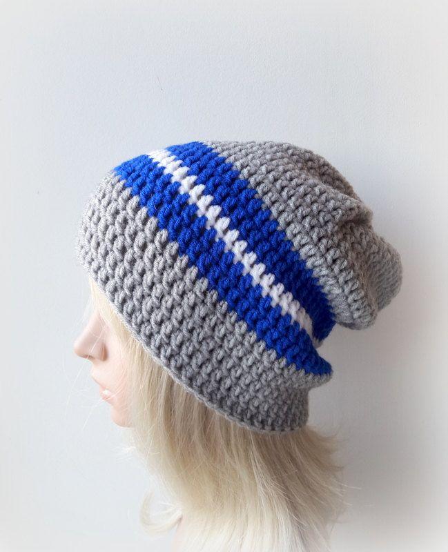 Crochet Mens Beaniemens Slouchy Beanie Mens Slouchy Hat Mens Or