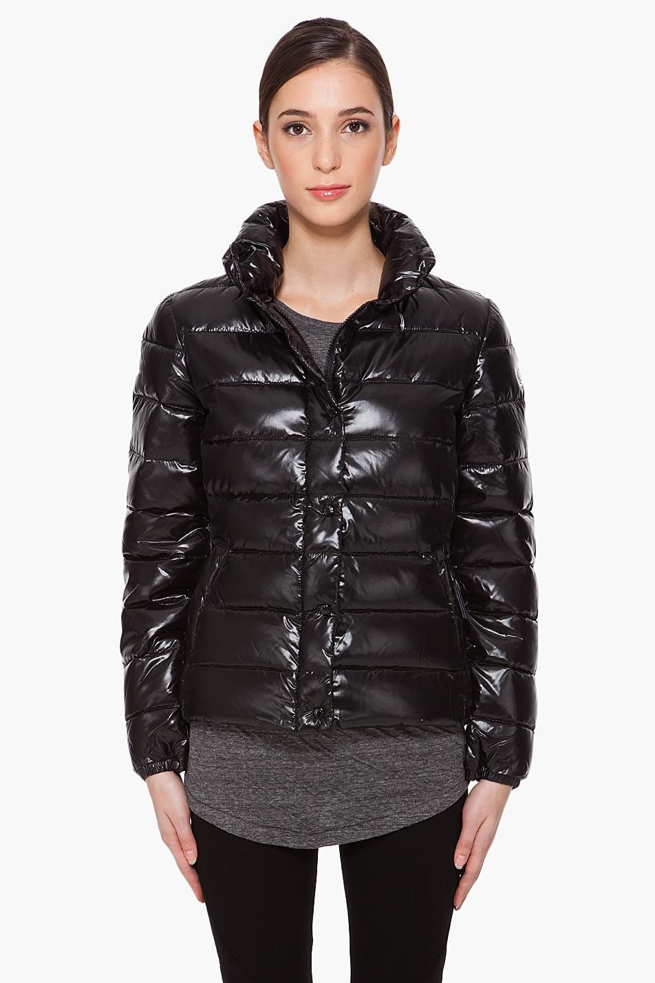 "Black Moncler ""Clairy"" down jacket Jackets, Moncler"