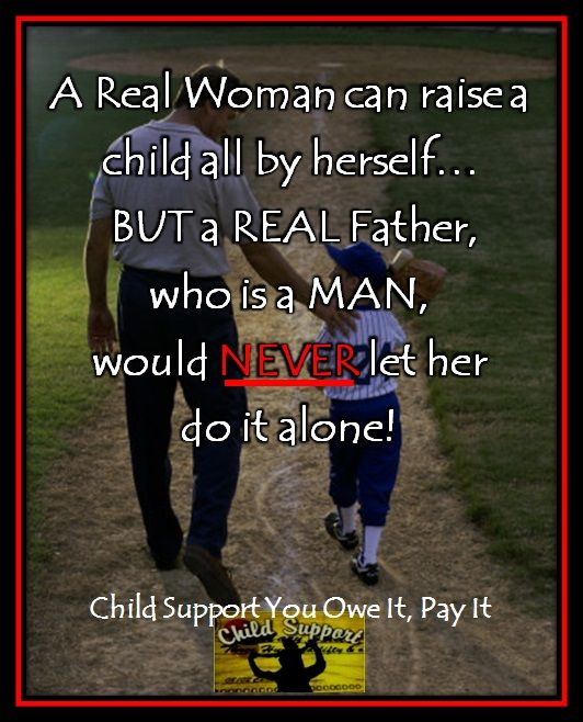 why don t women have to pay child support
