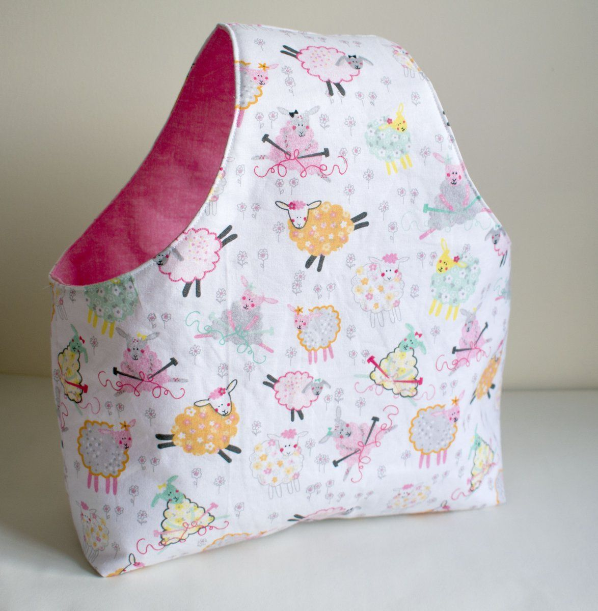 The Yarn bag is a great beginner project, This bag is a ...