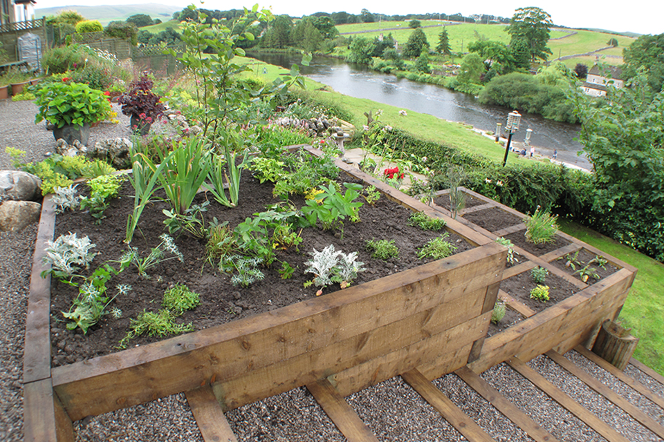 Sloping Garden Ideas   Yorkshire Gardens   Garden ...