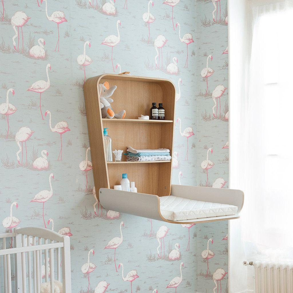 Inrichting Babykamer Muur.Commode Aan De Muur Interieur Inrichting Baby Baby Changing