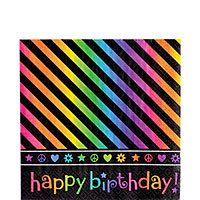 Neon Birthday Party Supplies - Party City