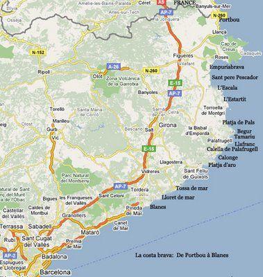 Costa Brava Espana Viajes Costero