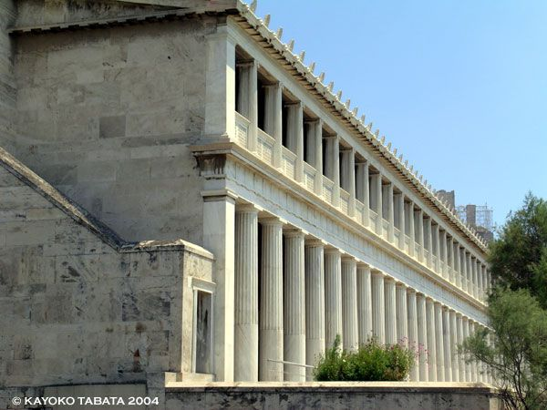 Stoa Of Attalos Ii Agora Athens Greece With Images Greece