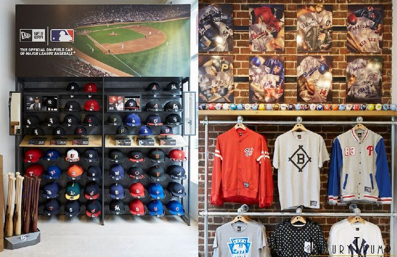 MLB Pop-Up Store Brings Authentic MLB Merchandise To London And Europe 85e823c91