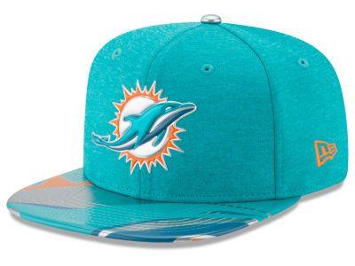 ed8dc00af45 Miami Dolphins New Era 2017 NFL Draft 9FIFTY Snapback Cap
