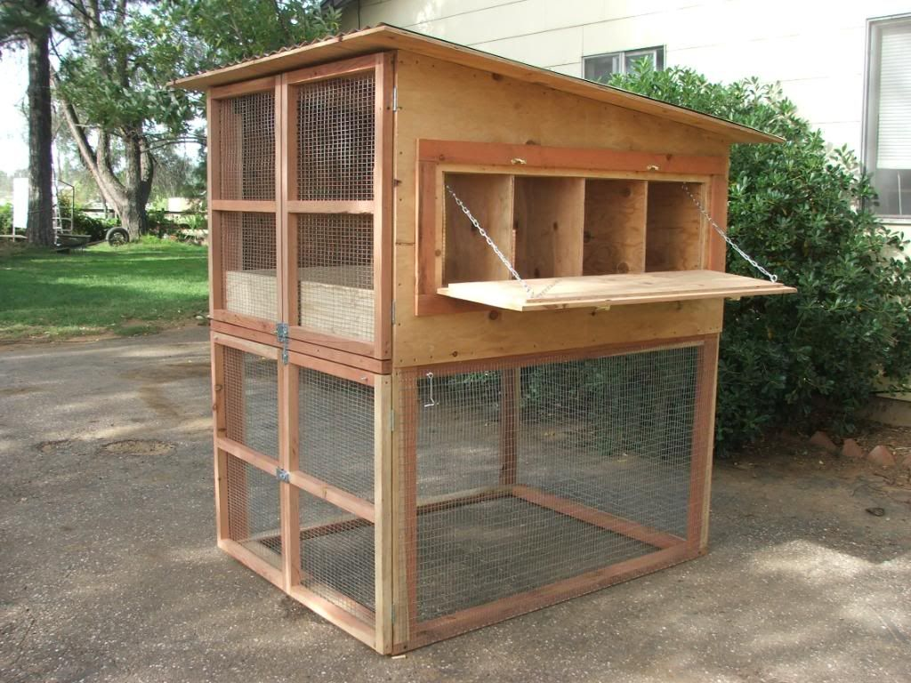 There Is No Run On This Coop Very Compact Backyard Chicken Coop Plans Mobile Chicken Coop Easy Chicken Coop