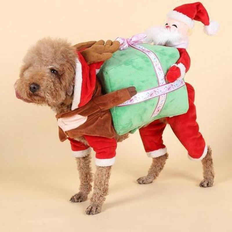 Santa Claus Christmas Dog Costume Pet Costumes Dog Costumes