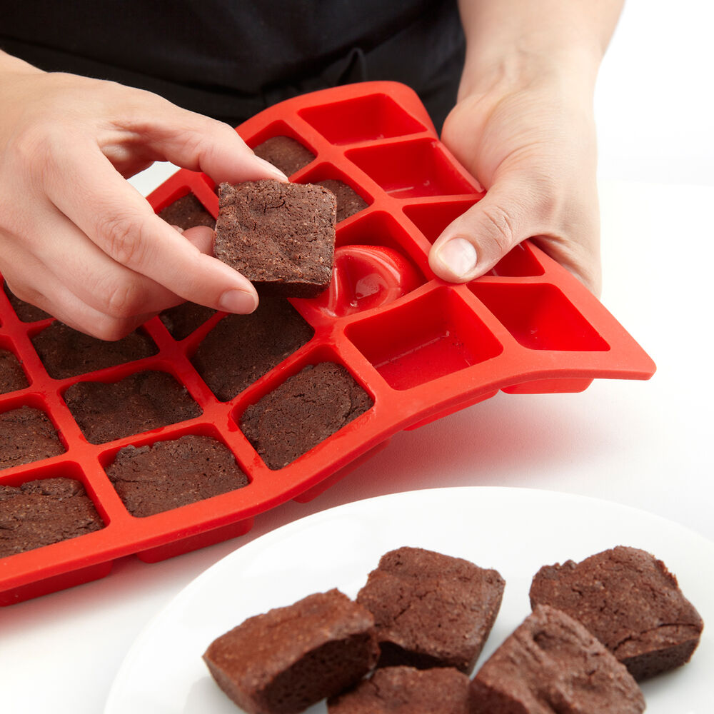 Lekue Mini Brownie Pan Mini Brownies Chocolate Chip Cookie