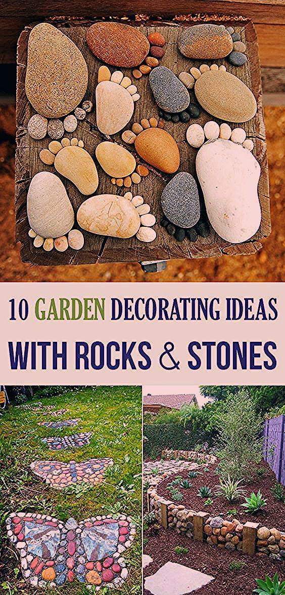 Photo of 10 Grünanlage Deko Ideen mit Steinen und Felsen