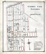 Historic Map Garden City Estates Nassau County 1914 Long Island