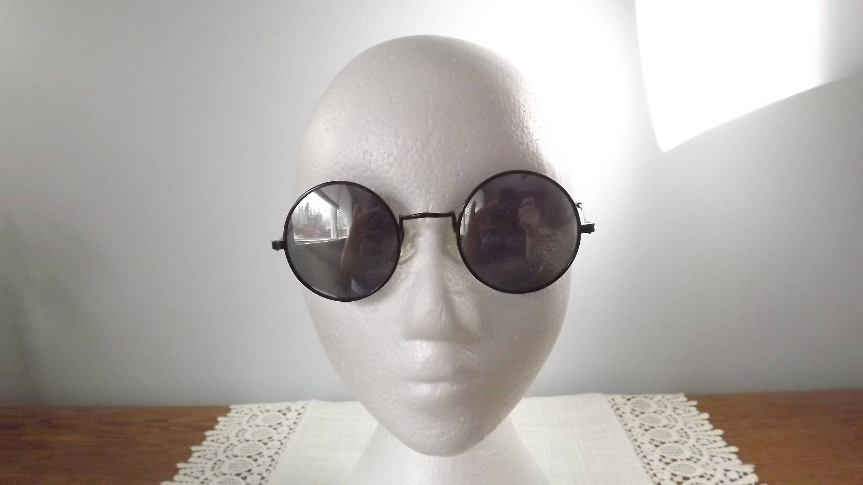 76ab4746e504 Vintage R.O.C. Be Like a Cool Dude Round Sunglasses