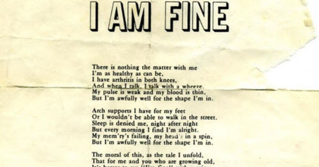 This Poem About Old Age Is More Than Honest It Is Hilarious Funny Funeral Poems Old Age Quotes Funny Poems