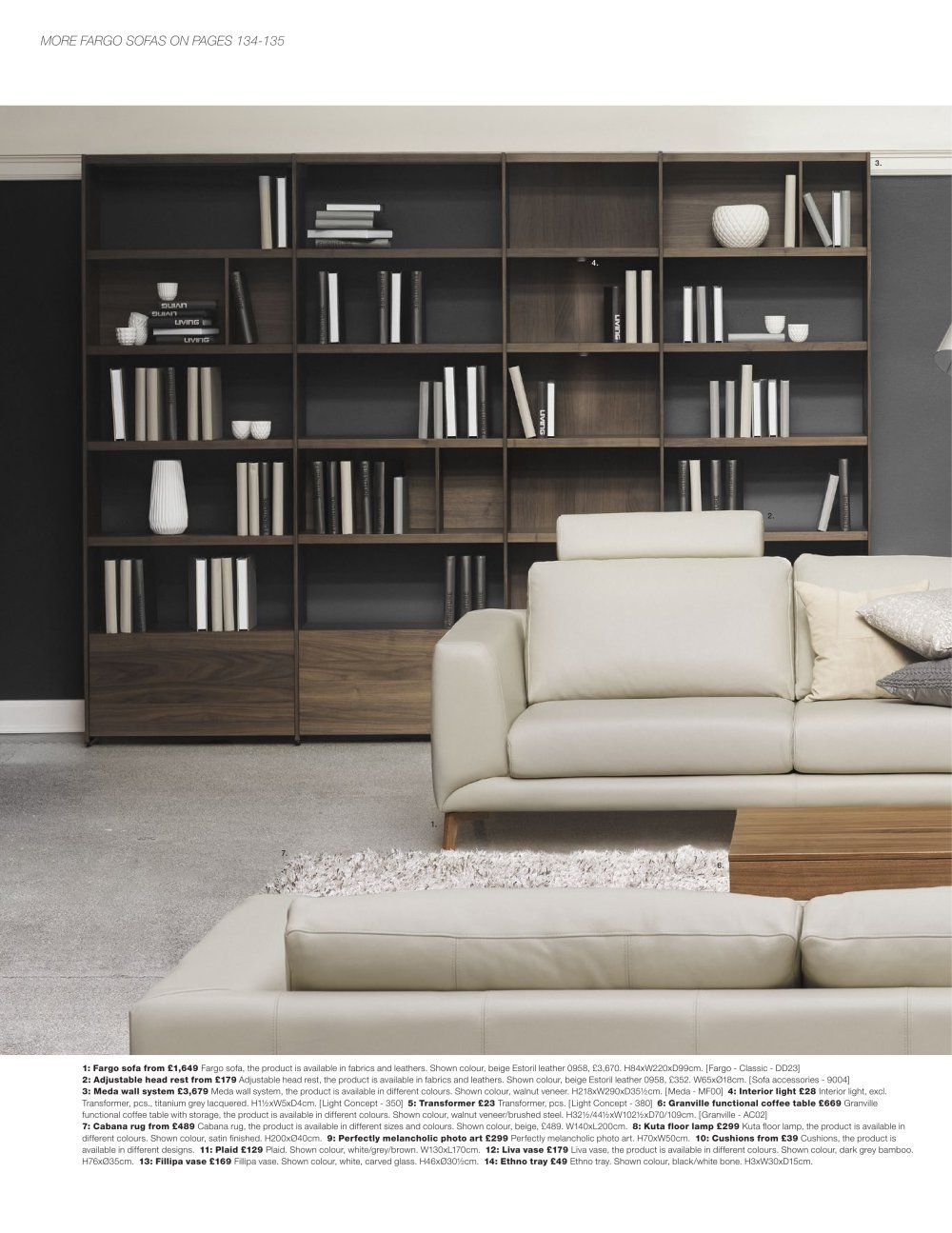 Boconcept 2015 Home Library Design Bookcase Design Shelving Design