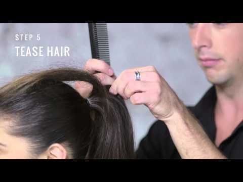 Big Teased Ponytail By Tresemme Style Studio Teased Ponytail Teased Hair Cheer Hair