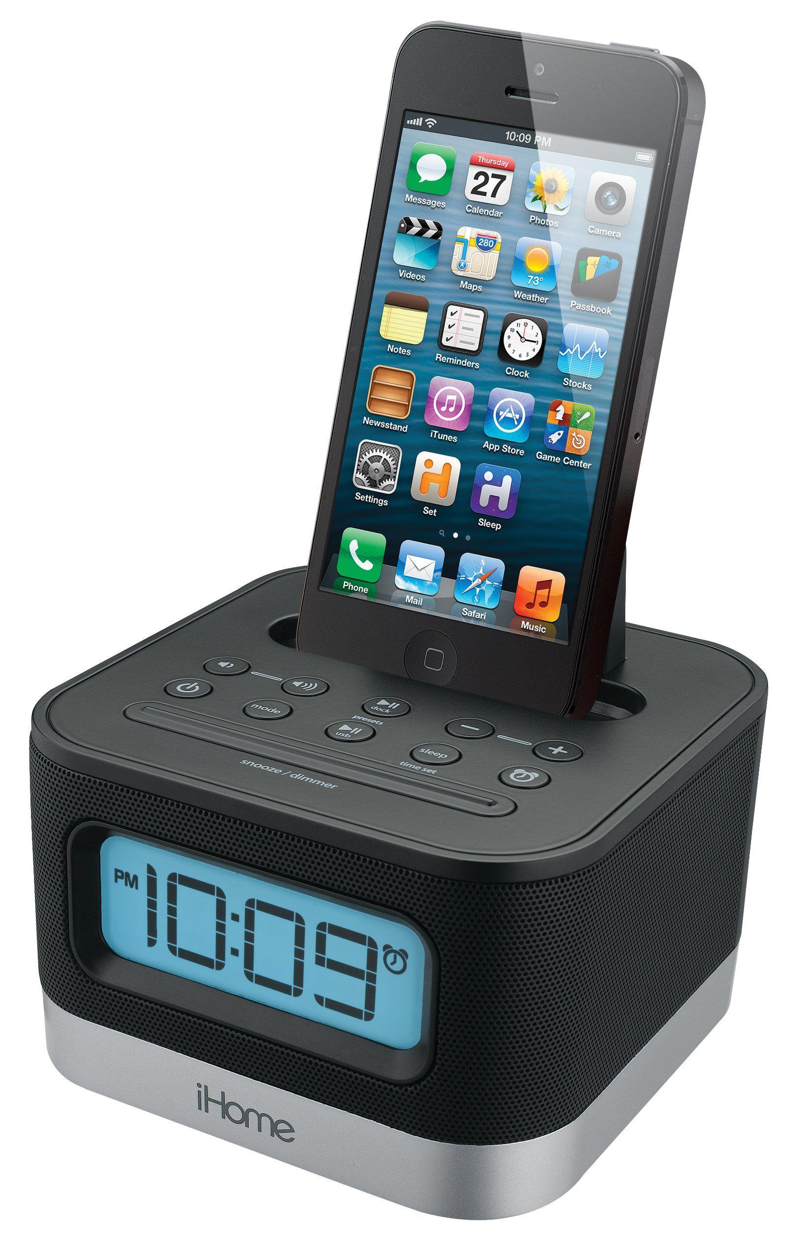 Ihome Stereo Fm Clock Radio